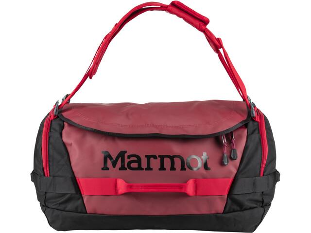 Marmot Long Hauler Duffel matkakassi Medium , punainen/musta